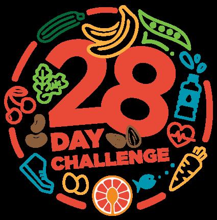 28 Days Challenge Logo
