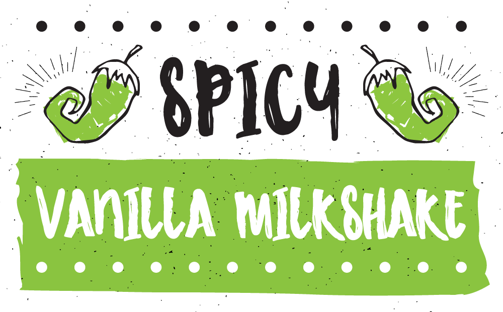 Spicy Vanilla Milkshake