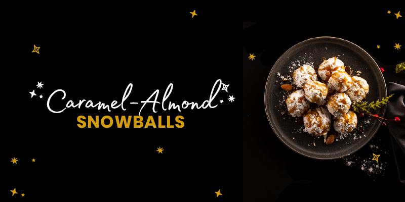 Caramel Almond Snowball Cookies Taste Market Street